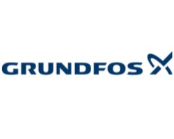 Grundfos logo and supplier of pumps
